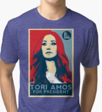 Camiseta de tejido mixto Tori para el presidente