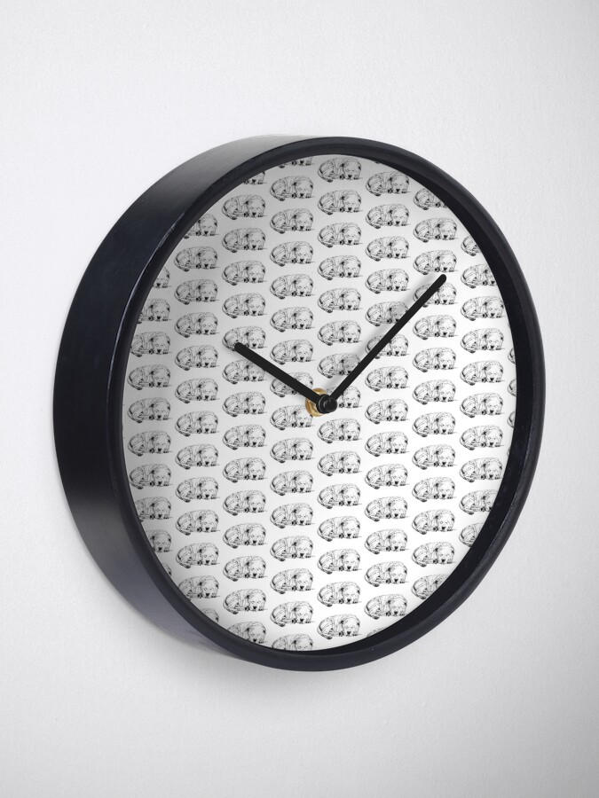Alternate view of Let Sleeping Dogs Lie - Clock Clock
