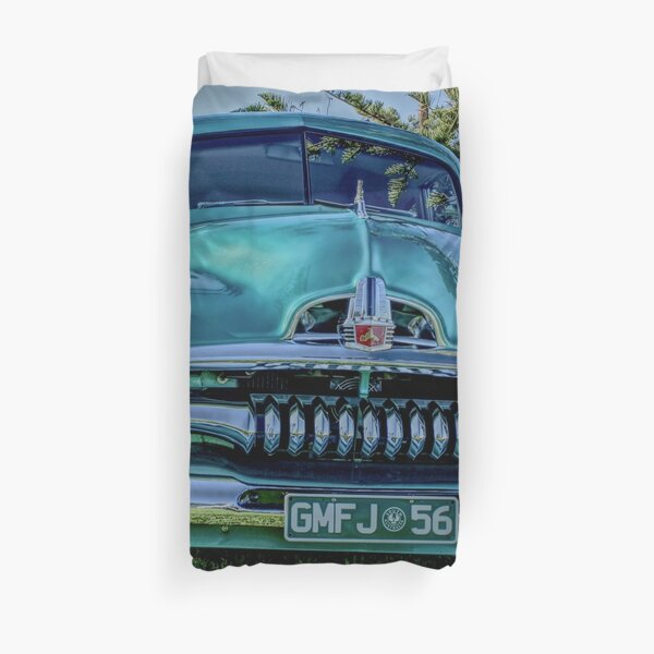 Modified FJ Holden at Wigley Reserve Duvet Cover