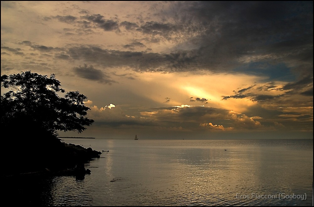 Twilight on Lake Ontario, Ontario Canada by Eros Fiacconi (Sooboy)