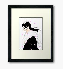 Byakuya Kuchiki Bleach Anime Framed Print