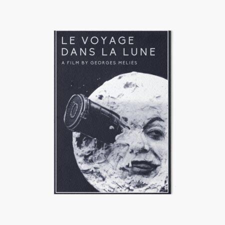 Le Voyage Dans la Lune  (A Trip to the Moon) - Georges Méliès Art Board Print