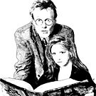 Giles and Buffy and The Book by Kathryn Andersen