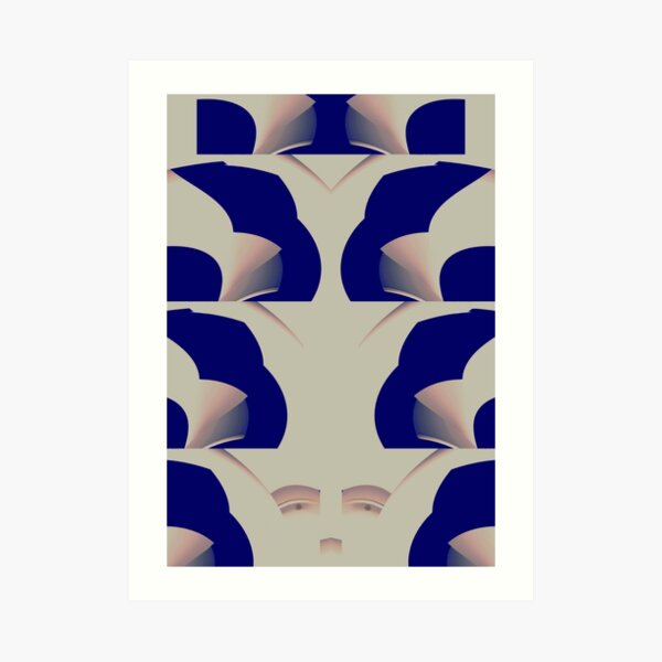 Curvilinear Project No. 101 ( As I See It  ) Art Print
