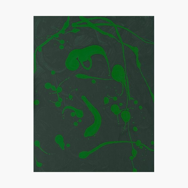 Green Embryo Photographic Print