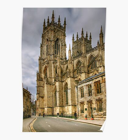 The Two Towers of York Minster Poster