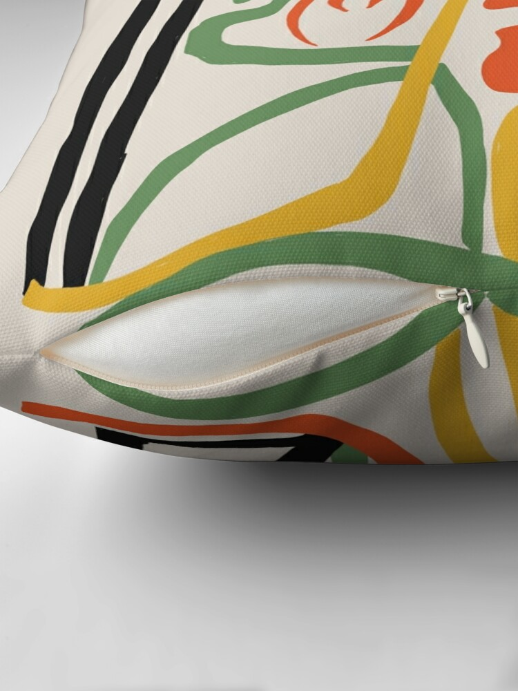 Alternate view of Picasso - Woman's head #1 Throw Pillow