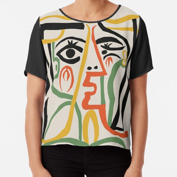 Picasso - Woman's head #1 Chiffon Top