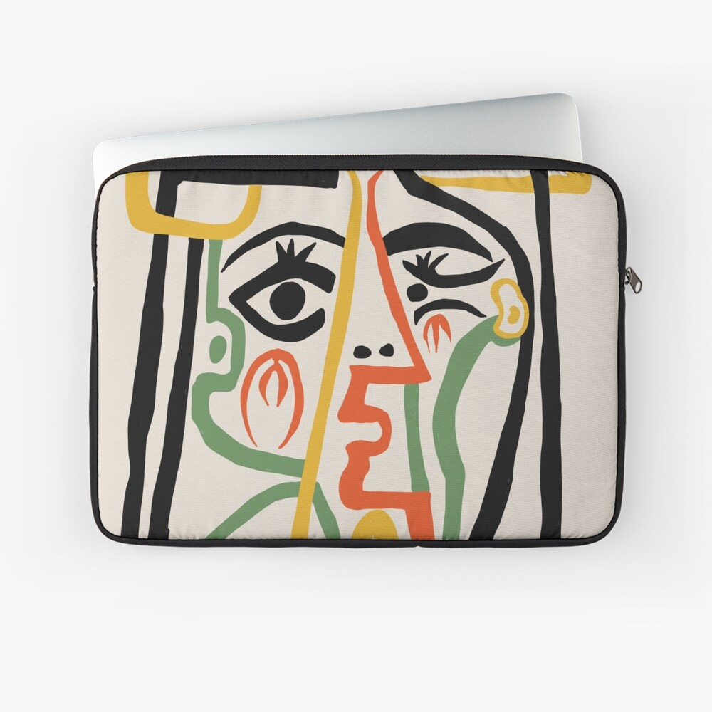 Picasso - Woman's head #1 Laptop Sleeve