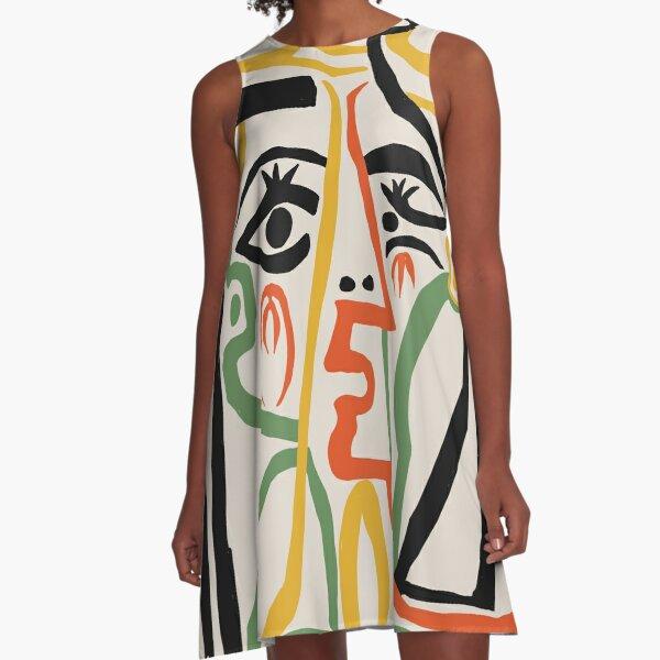 Picasso - Woman's head #1 A-Line Dress