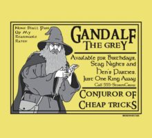 Gandalf: Conjuror of Cheap Tricks
