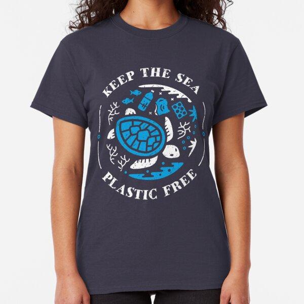 Keep the Sea Plastic Free Marine Scene Classic T-Shirt