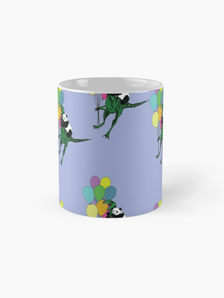 Alternate view of Flying away pattern Classic Mug