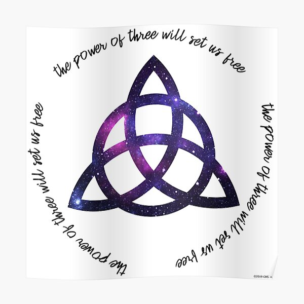 the power of three - charmed Poster