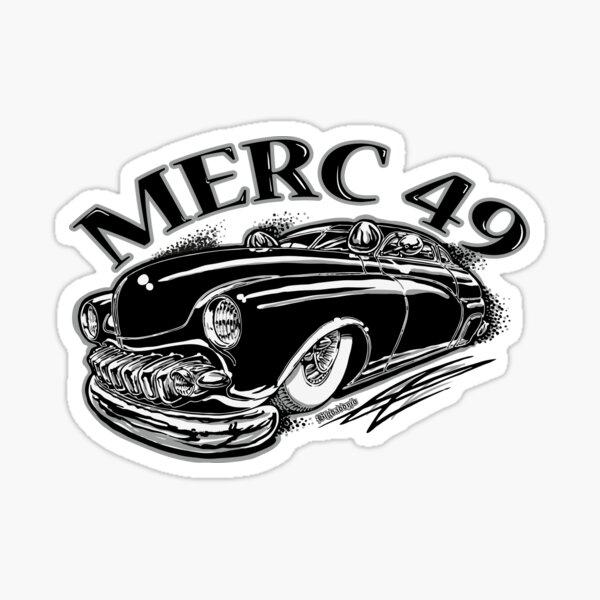 Merc 49 Sticker