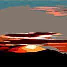 Sunset; Southwestern Style by Chet  King