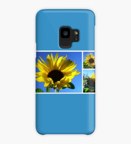Sunflowers with morning dew  Case/Skin for Samsung Galaxy