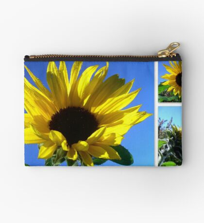 Sunflowers with morning dew  Studio Pouch