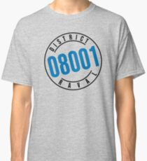 RAVAL DISTRICT 08001 vs. BEVERLY HILLS 90210 v.2 Classic T-Shirt