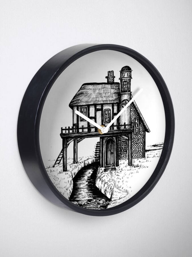 Alternate view of House with a View - Clock Clock