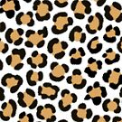 Trendy Leopard Simulated Fur Effect Pattern by NataliePaskell