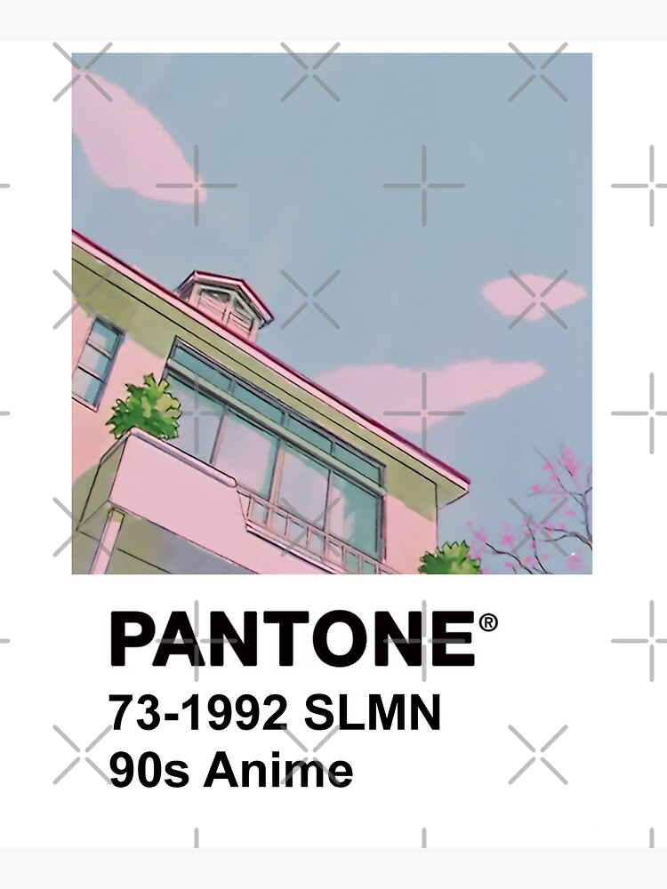 PANTONE 90s Anime by PeachPantone