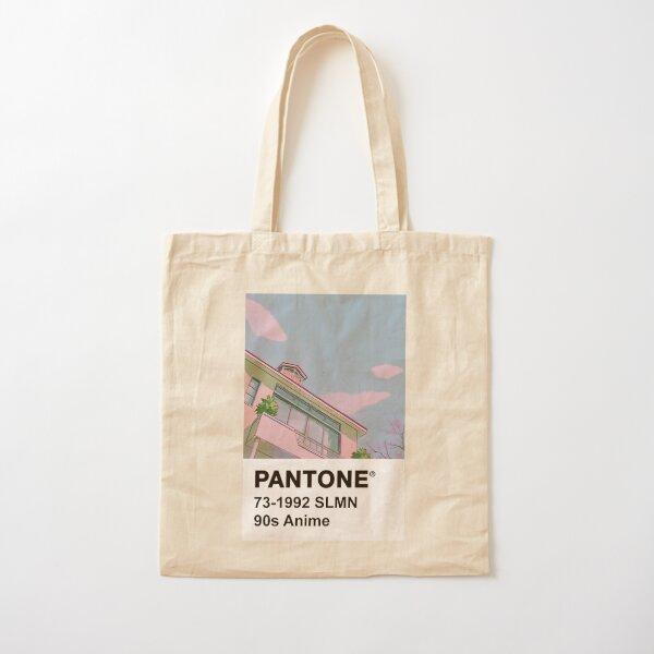 PANTONE 90s Anime Cotton Tote Bag