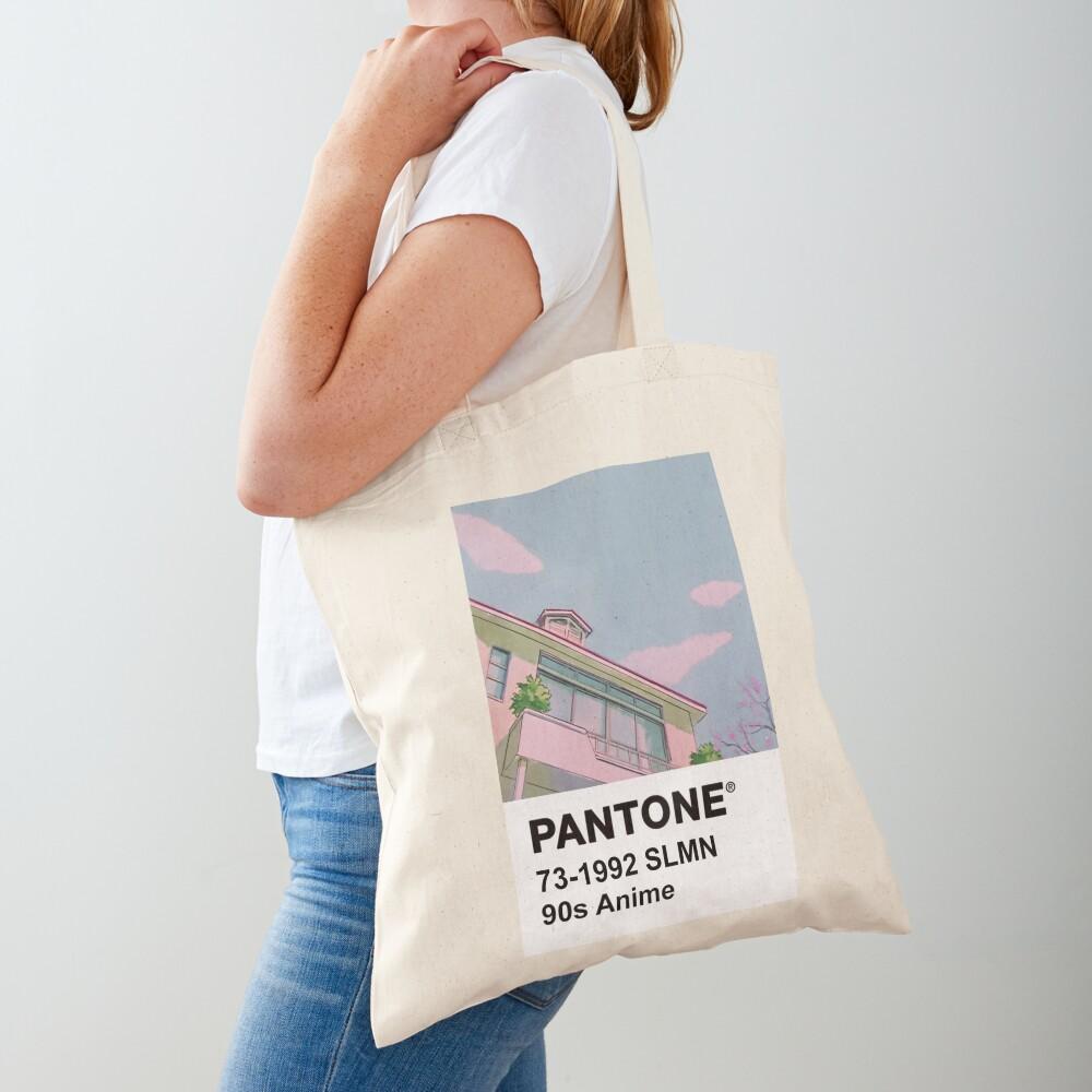 PANTONE 90s Anime Tote Bag