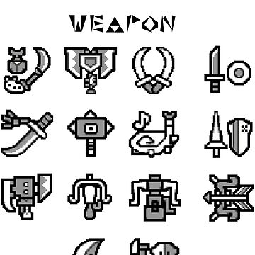 Weapon Selection by z3r0-gr4vity