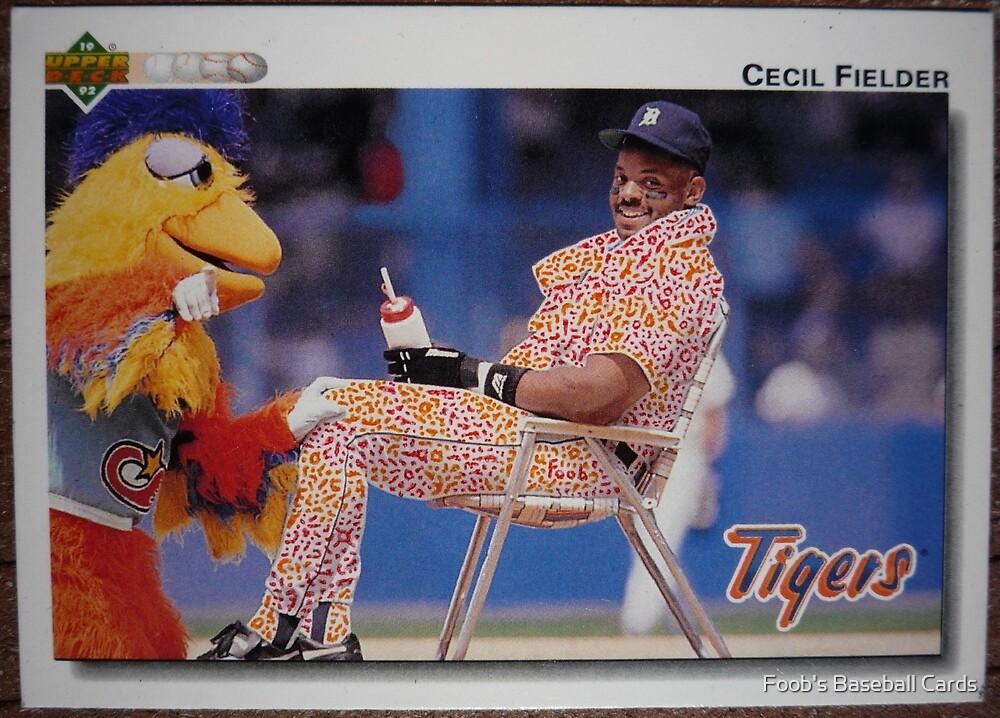 501 - Cecil Fielder by Foob's Baseball Cards
