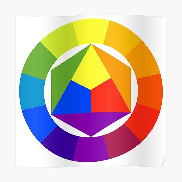 Colors circle Poster