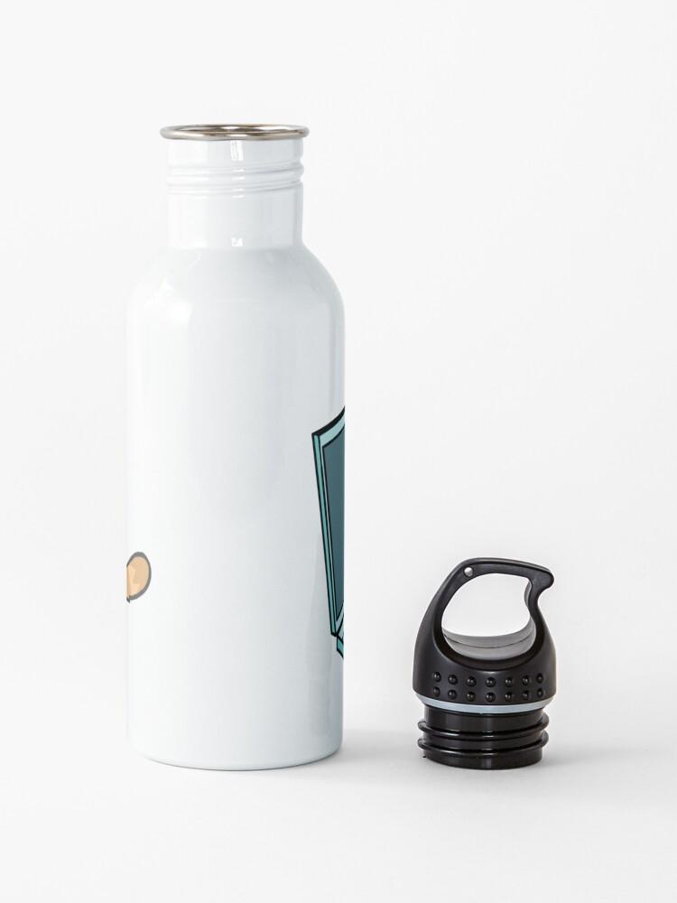 Alternative Ansicht von Nette Laptop-Katze Trinkflasche