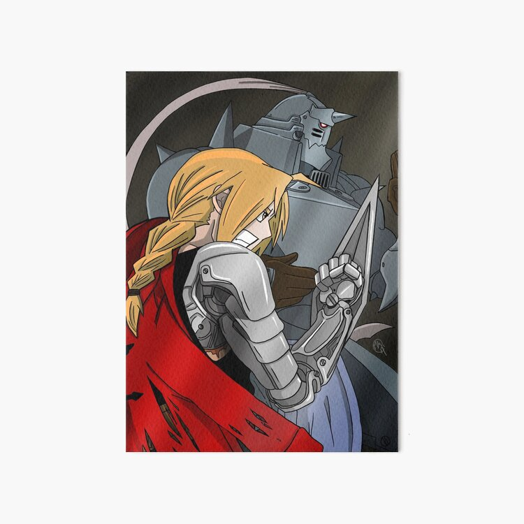 The Elric Brothers Art Board Print