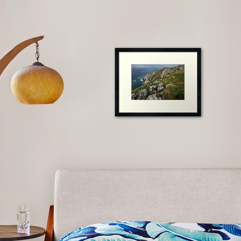 Lundy Framed Art Print