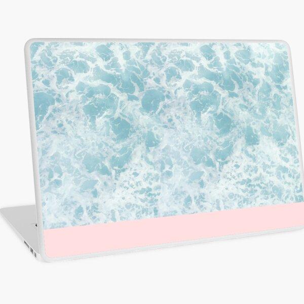 Pink on Sea Laptop Skin