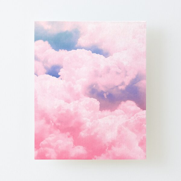 Candy Sky Canvas Mounted Print