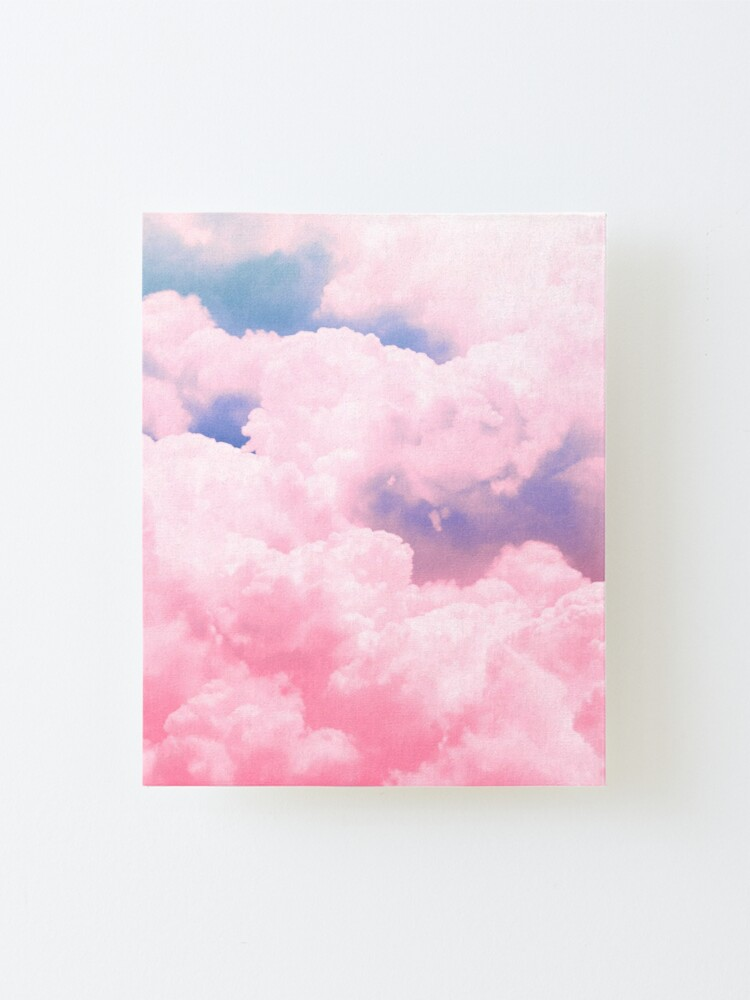 Alternate view of Candy Sky Mounted Print
