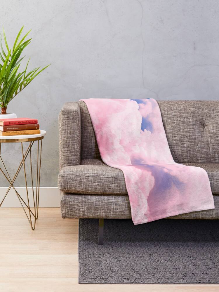 Alternate view of Candy Sky Throw Blanket