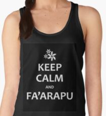 Keep Calm and Fa'arapu Women's Tank Top