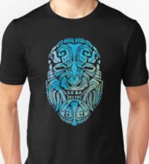 Mesoamerica Mask Watercolor Unisex T-Shirt
