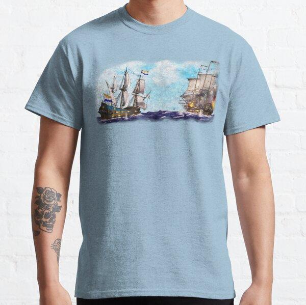 Anglo-Dutch Sea Battle Classic T-Shirt