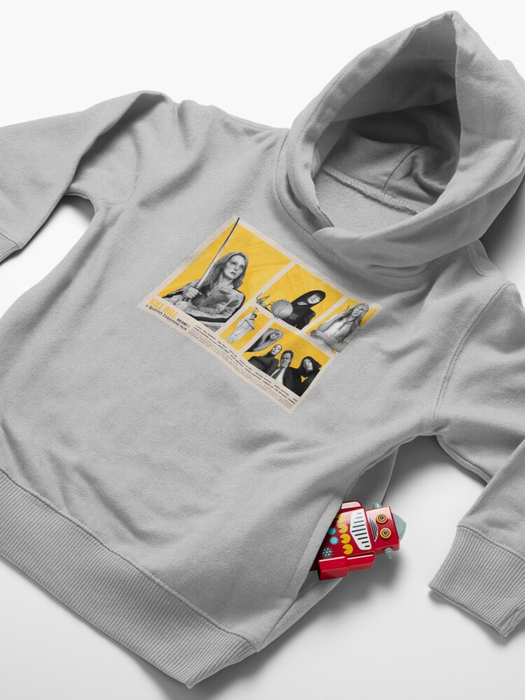 Alternate view of Kill Bill Vol. 1 Movie Poster Design Toddler Pullover Hoodie