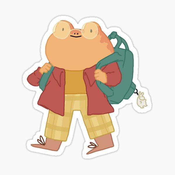 School frog! Sticker