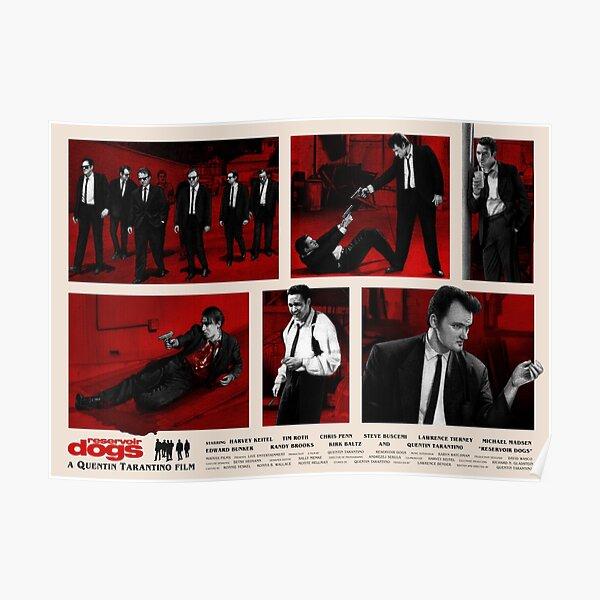 Reservoir Dogs Movie Poster Design Poster