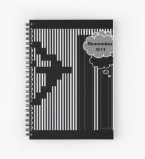 9/11 Ascii Spiral Notebook