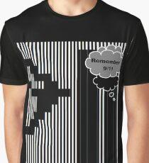 9/11 Ascii Graphic T-Shirt