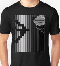 9/11 Ascii Slim Fit T-Shirt