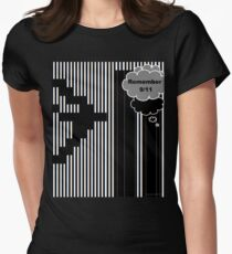 9/11 Ascii Fitted T-Shirt
