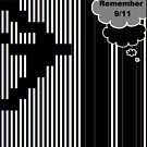 9/11 Ascii by EyeMagined