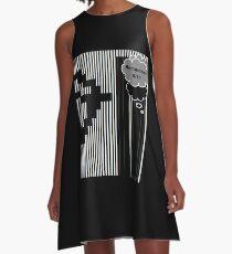 9/11 Ascii A-Line Dress